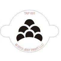 TAP Stencil Monster Scales 001