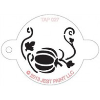 TAP Stencil Pumpkin with Vine 027