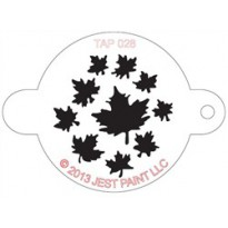 TAP Stencil Leaves 028