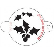 TAP Stencil Holly Leaf and Berries 038