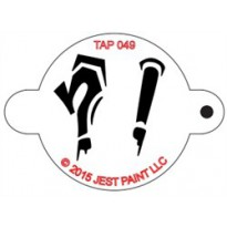 TAP Stencil Graffiti Punctuation Marks 049