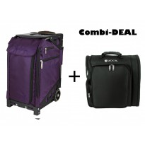 ZUCA Pro Artist Purple + Backpack