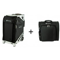 ZUCA Pro Artist Black/Silver + Backpack