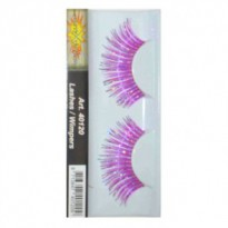 Wimpers - Fuchsia silver 40120