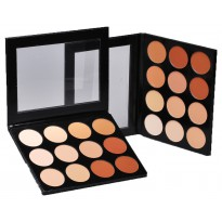 Celebre Pro-HD Pressed Powder - Contour & Highlight Palette - 12 Shades