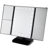 Make-Up Spiegel LED 3-luik