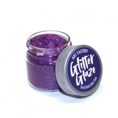 GlitterGlaze Paint - Purple