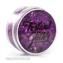 Festival Glitter - Fierce Purple