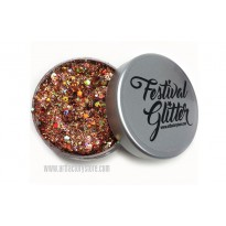 Festival Glitter - Pumpkin Spice Orange