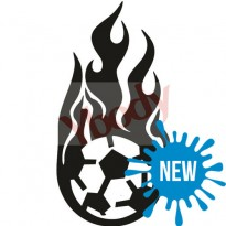 Sjabloon Fire Football