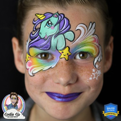 Workshop Masterclass Unicorn Schminken By Elody