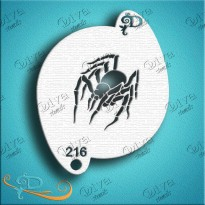 Spider - Diva Designs Schminksjabloon