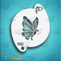 Butterfly  - Diva Designs Schminksjabloon